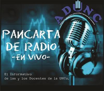 logo pancarta de radio ok