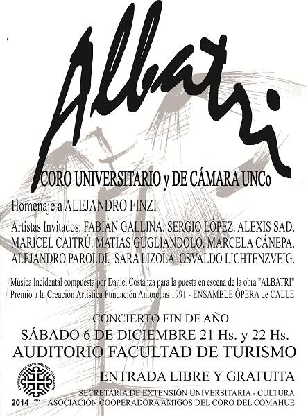 Concierto Coro del 6.12.2014