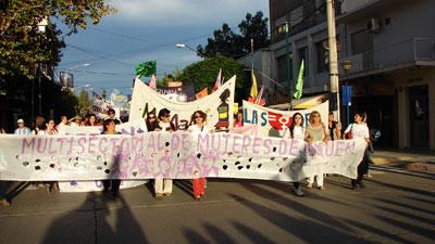 Multisectorial de Mujeres Neuquén - Foto de Archivo