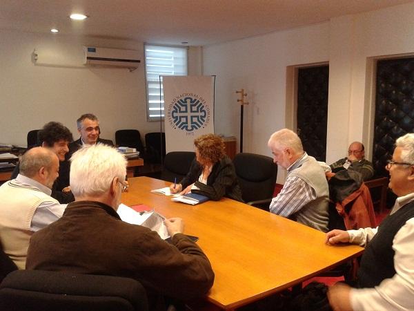 Apertura Paritaria Local en la UNCo 20.08.2015