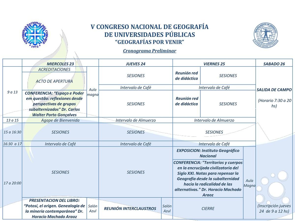 COMAHUE2015_cronograma preliminar-1_001