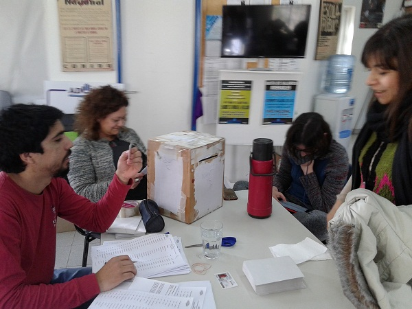 Inicio de lecciones en Comahue 2