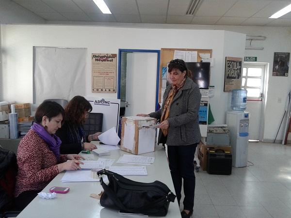 elecciones Conadu H dia 2 .2
