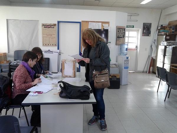 elecciones Conadu H dia 2