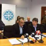 Conferencia de prensa del Sr. rector