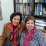 Ma Aparecida Moraes y Marta Radonich