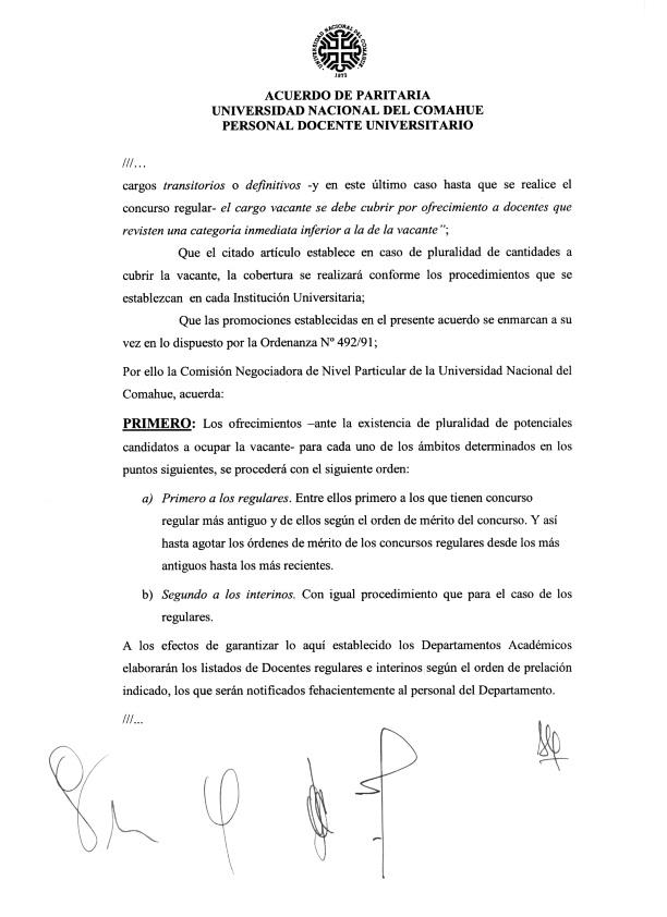 2015-11-18 Acta Paritaria Docente ADUNC Art. 14 cobertura de cargos Decreto 1246-15_002