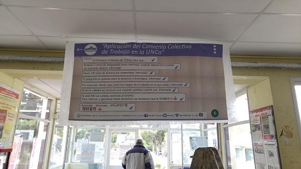 Banner en Fahuma ADUNC NQN
