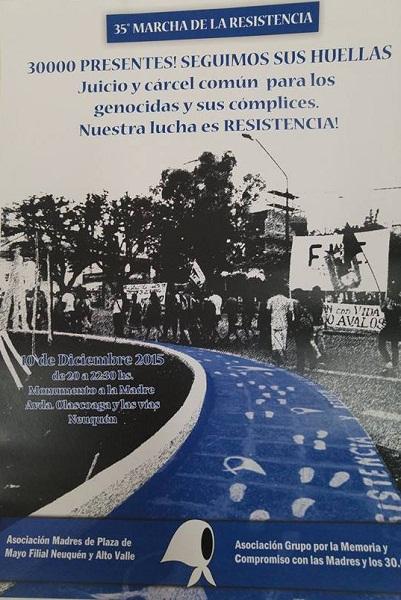 35 marcha de la resistencia
