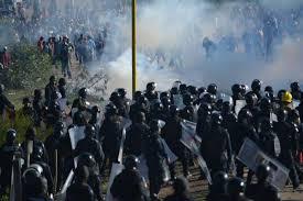 Represion en Oaxaca