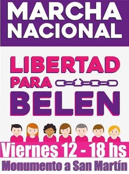 LibertadparaBelen marcha nqn