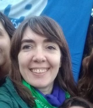 Laura Kniznik - Directora de Género y Diversidad Sexual de Conadu Histórica-.